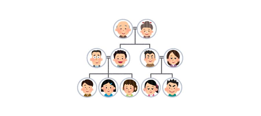 遺品整理を始める時の注意点。遺族全員の合意をとっておくイラスト