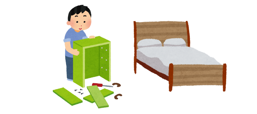 遺品整理での家具買取のポイント 買い取りの難しい家具イラスト